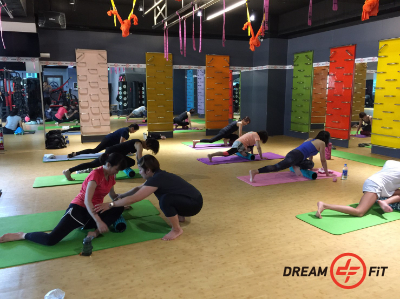 Dream Fit group class